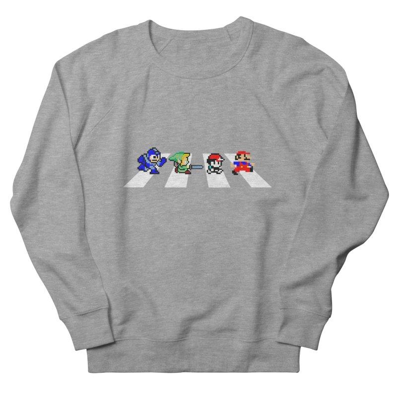 8bit road Women's Sweatshirt by Andrew's Fantastic World Shop