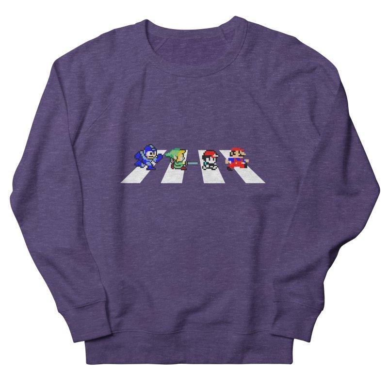 8bit road Men's Sweatshirt by Andrew's Fantastic World Shop