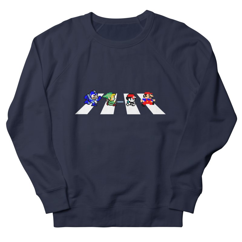 8bit road Men's Sweatshirt by Andrew's Fantastic World Shop