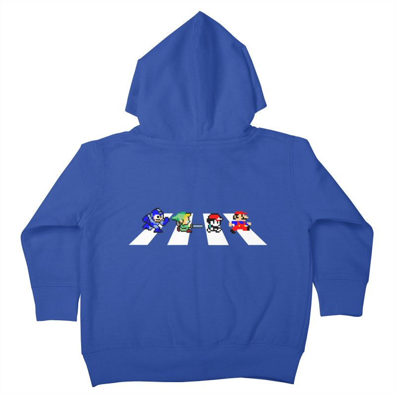 8bit road Kids Toddler Zip-Up Hoody by Andrew's Fantastic World Shop