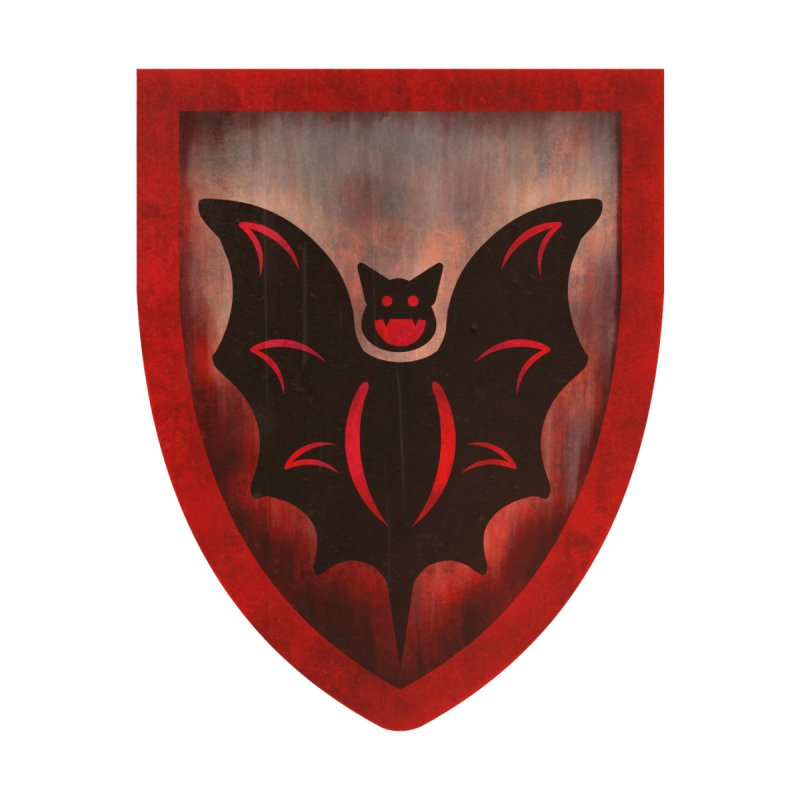 Fright Knights Shield by andrewbohrer's Artist Shop