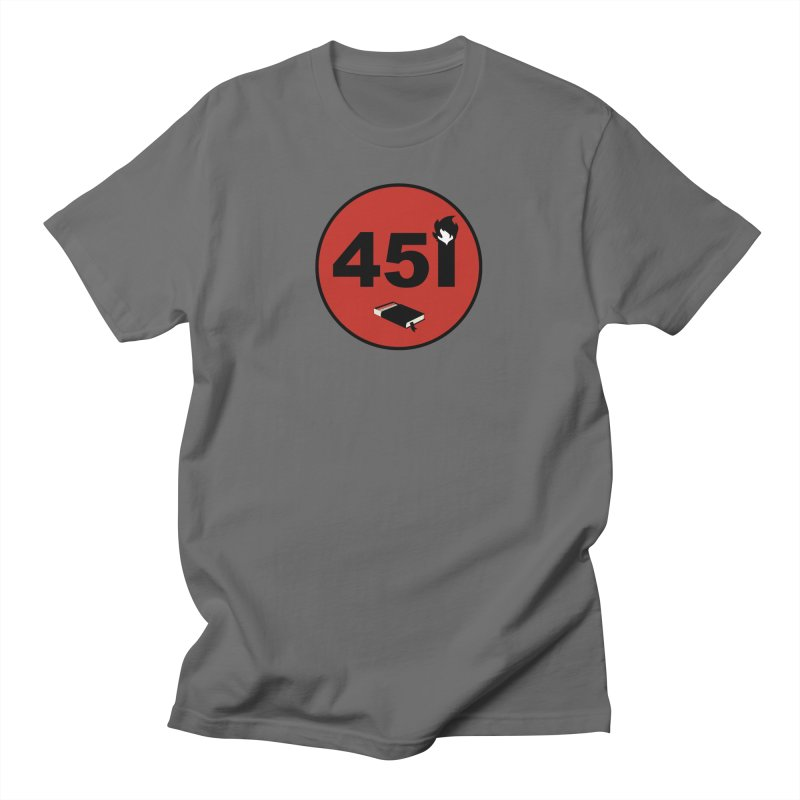F451 Men's T-Shirt by Andrew Cotten's Artist Shop
