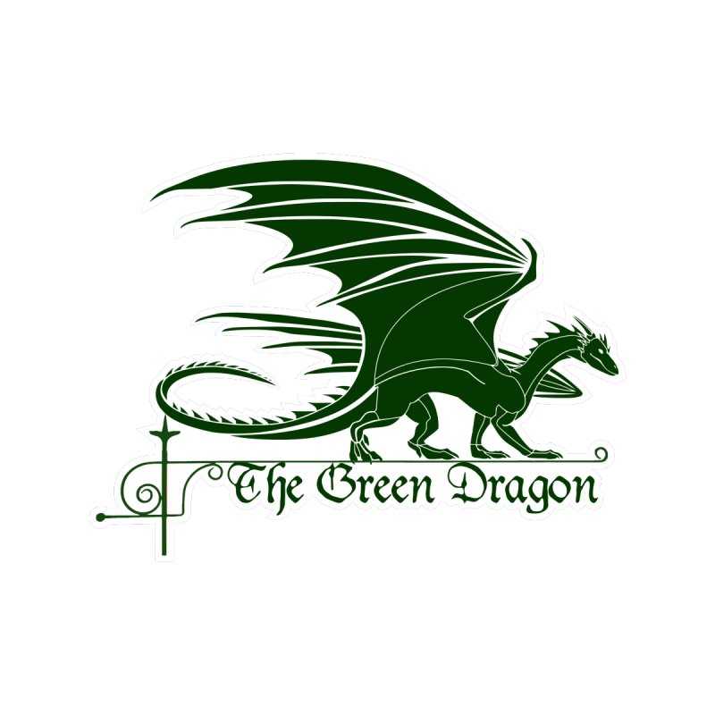 The Green Dragon Tavern Home Throw Pillow by Andrew Cotten's Artist Shop