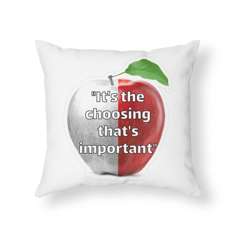 The Giver Home Throw Pillow by Andrew Cotten's Artist Shop