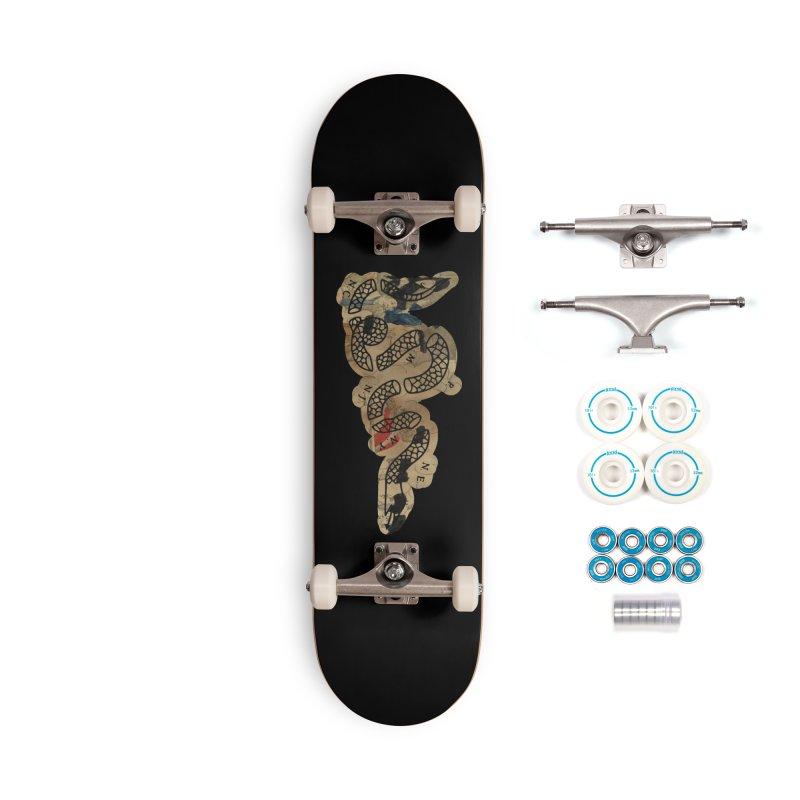 Join or Die Boston Massacre Accessories Skateboard by Andrew Cotten's Artist Shop