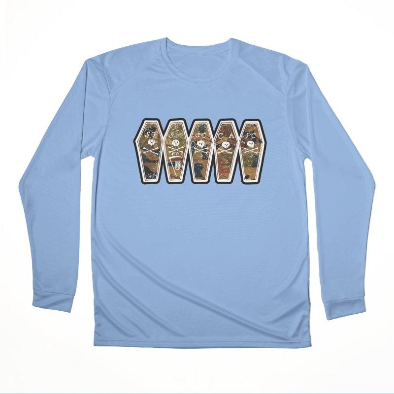 Boston Massacre Coffins on Boston Massacre Engraving, Victims Women's Longsleeve T-Shirt by Andrew Cotten's Artist Shop