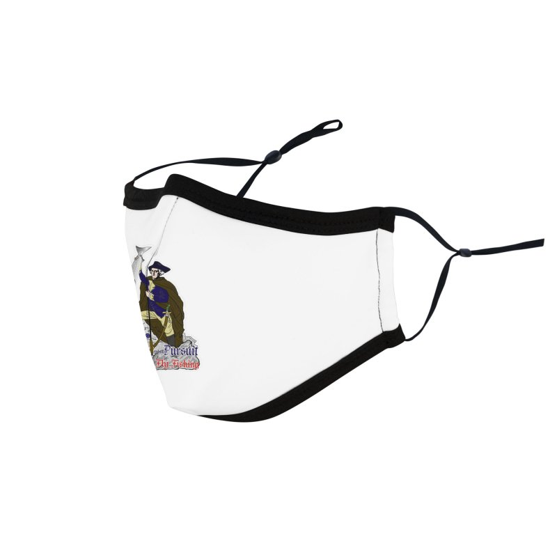 George Washington Life Liberty and the Pursuit of Fly Fishing Accessories Face Mask by Andrew Cotten's Artist Shop