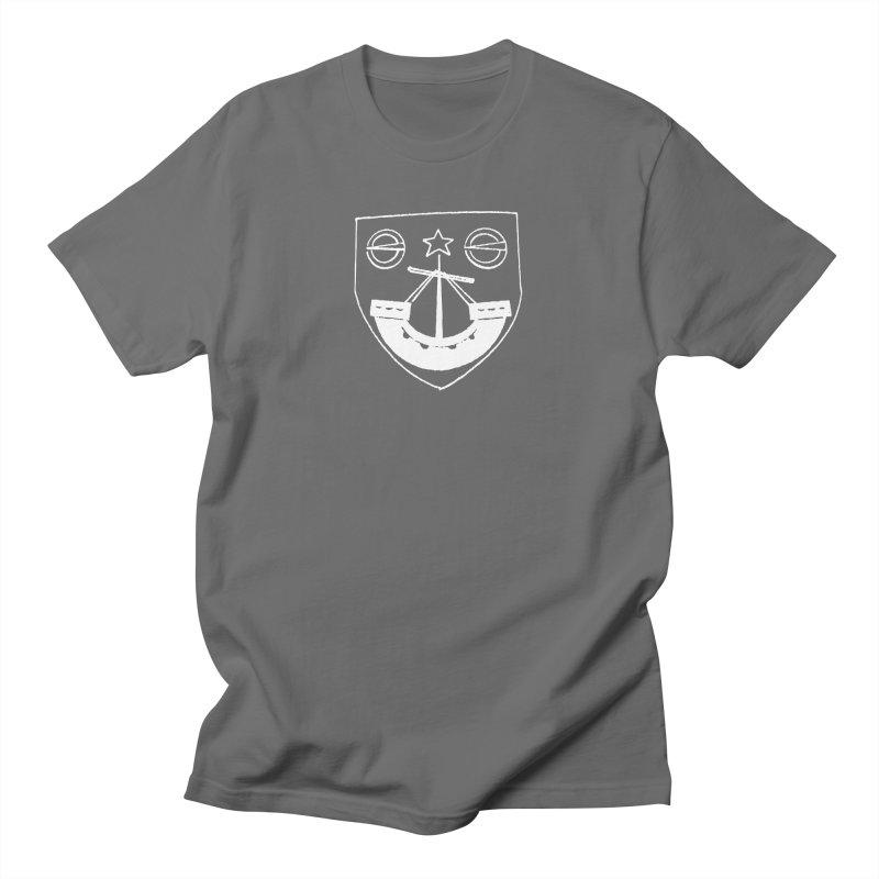 Gunn Clan Shield White Men's T-Shirt by Andrew Cotten's Artist Shop
