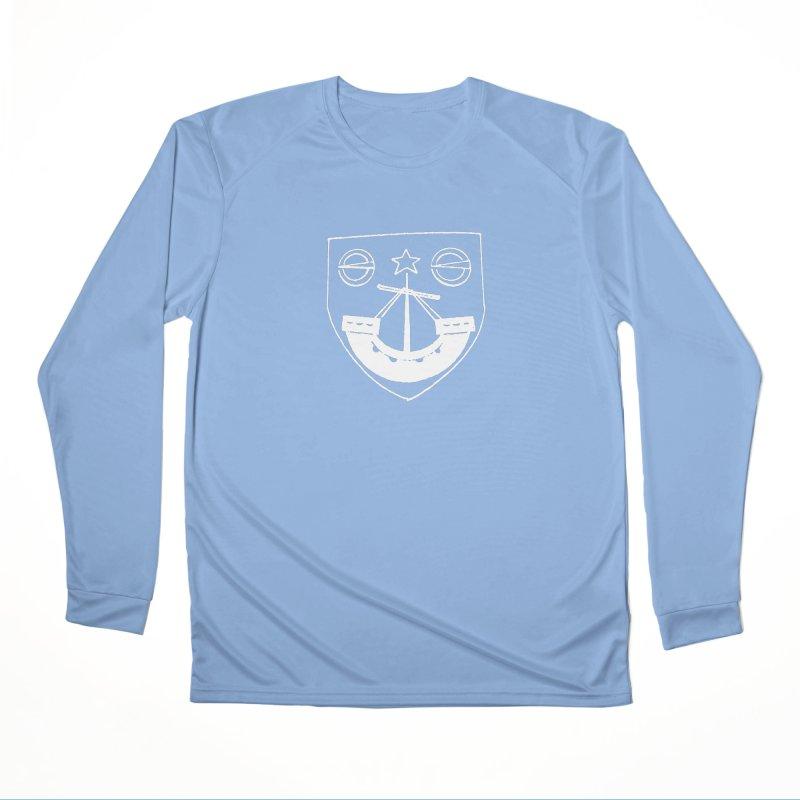 Gunn Clan Shield White Women's Longsleeve T-Shirt by Andrew Cotten's Artist Shop