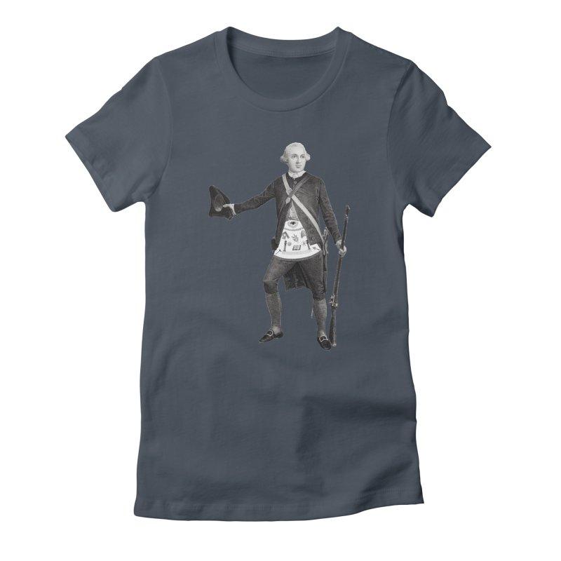 Joseph Warren Freemason Women's T-Shirt by Andrew Cotten's Artist Shop