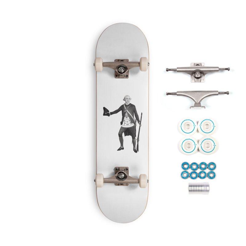 Joseph Warren Freemason Accessories Skateboard by Andrew Cotten's Artist Shop