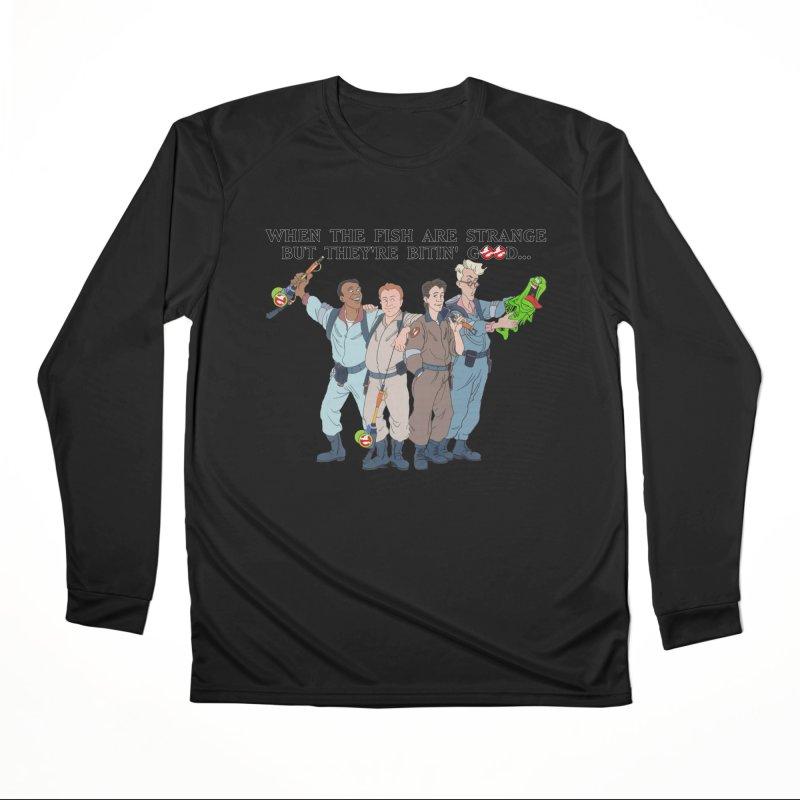 Something Strange Fishing Women's Longsleeve T-Shirt by Andrew Cotten's Artist Shop