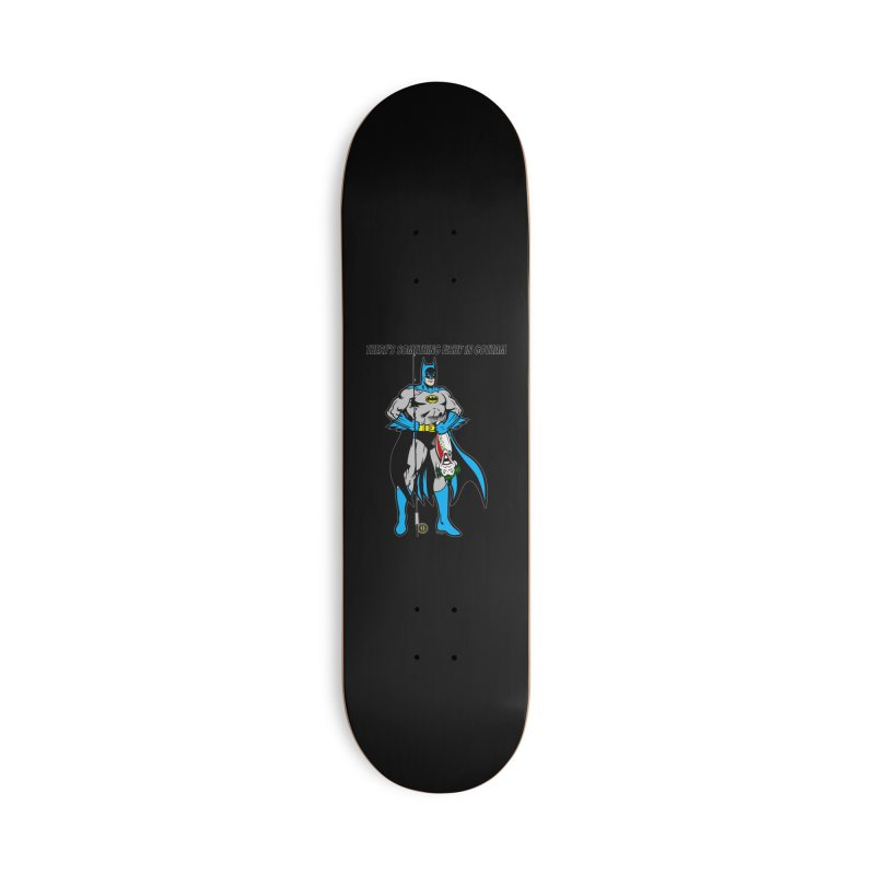 There's Something Fishy in Gotham T-Shirt Accessories Skateboard by Andrew Cotten's Artist Shop