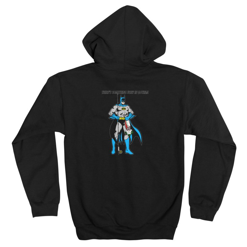 There's Something Fishy in Gotham T-Shirt Women's Zip-Up Hoody by Andrew Cotten's Artist Shop