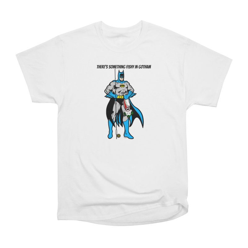 There's Something Fishy in Gotham T-Shirt Women's T-Shirt by Andrew Cotten's Artist Shop