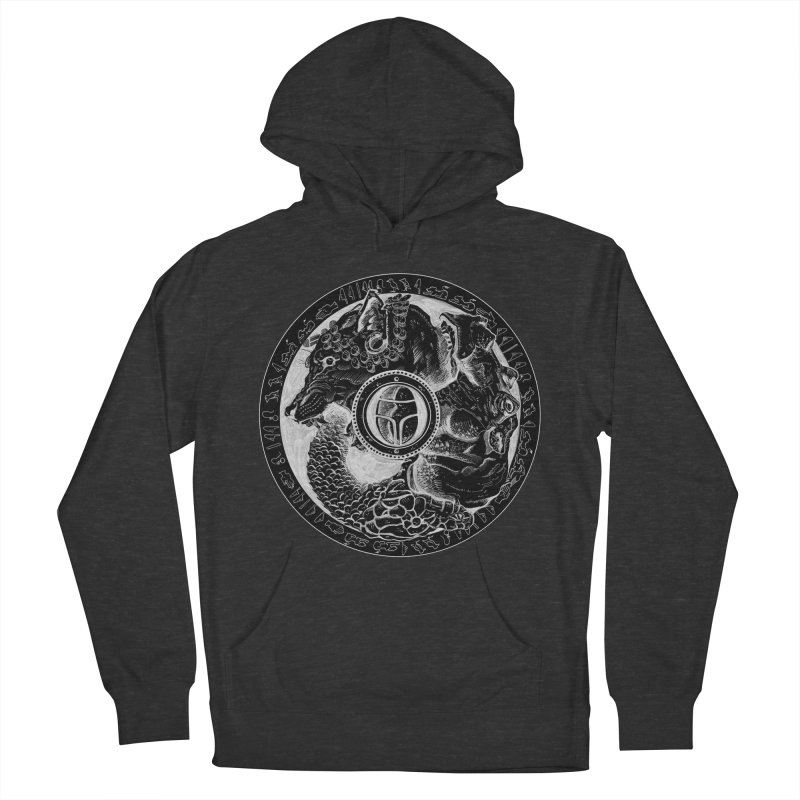 Scarabs Comic logo Men's Pullover Hoody by Andrew Dorland's Shop of Wonderful Things