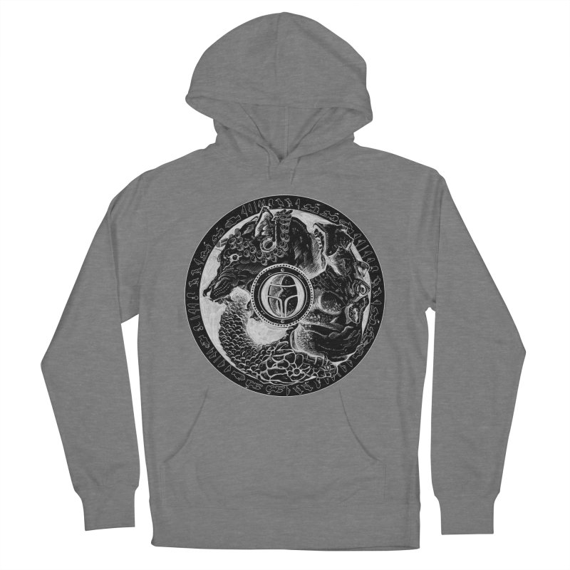 Scarabs Comic logo Men's French Terry Pullover Hoody by Andrew Dorland's Shop of Wonderful Things