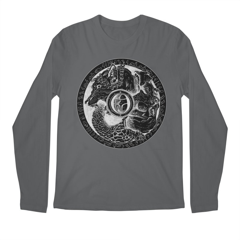 Scarabs Comic logo Men's Longsleeve T-Shirt by Andrew Dorland's Shop of Wonderful Things