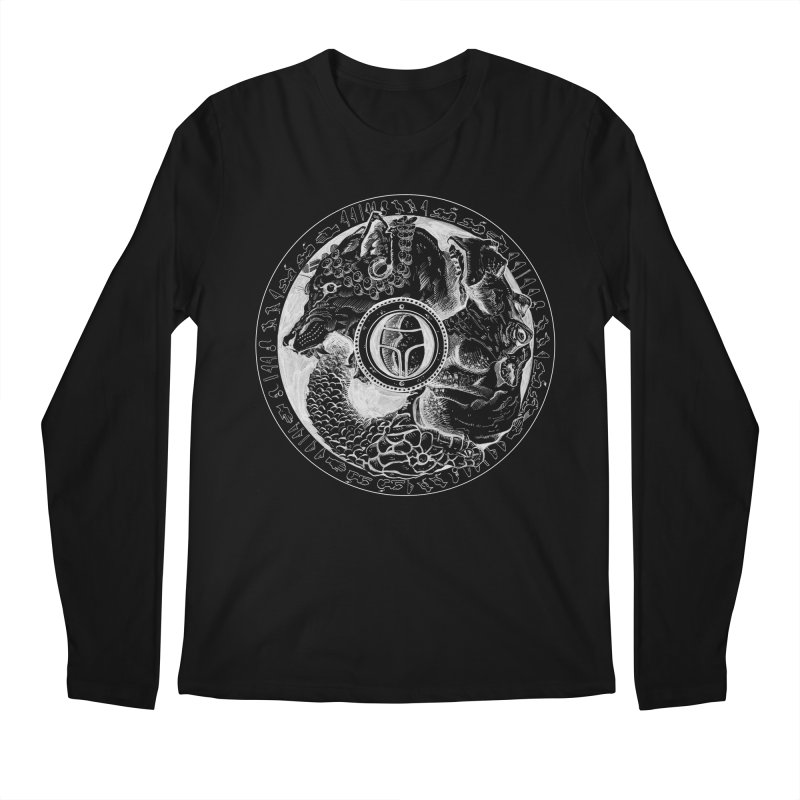 Scarabs Comic logo Men's Regular Longsleeve T-Shirt by Andrew Dorland's Shop of Wonderful Things