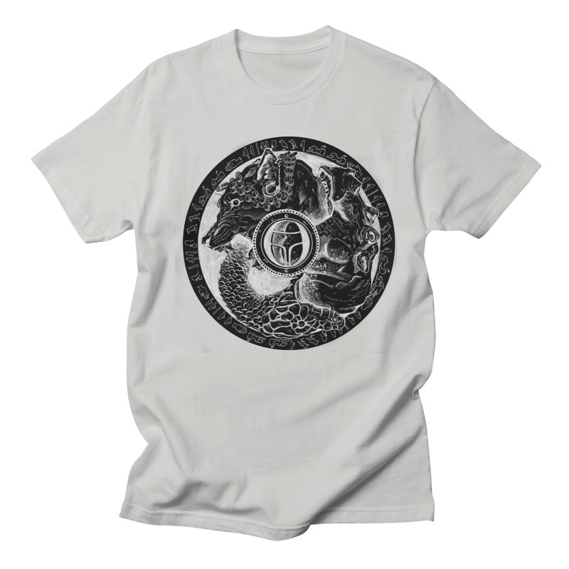 Scarabs Comic logo Men's Regular T-Shirt by Andrew Dorland's Shop of Wonderful Things