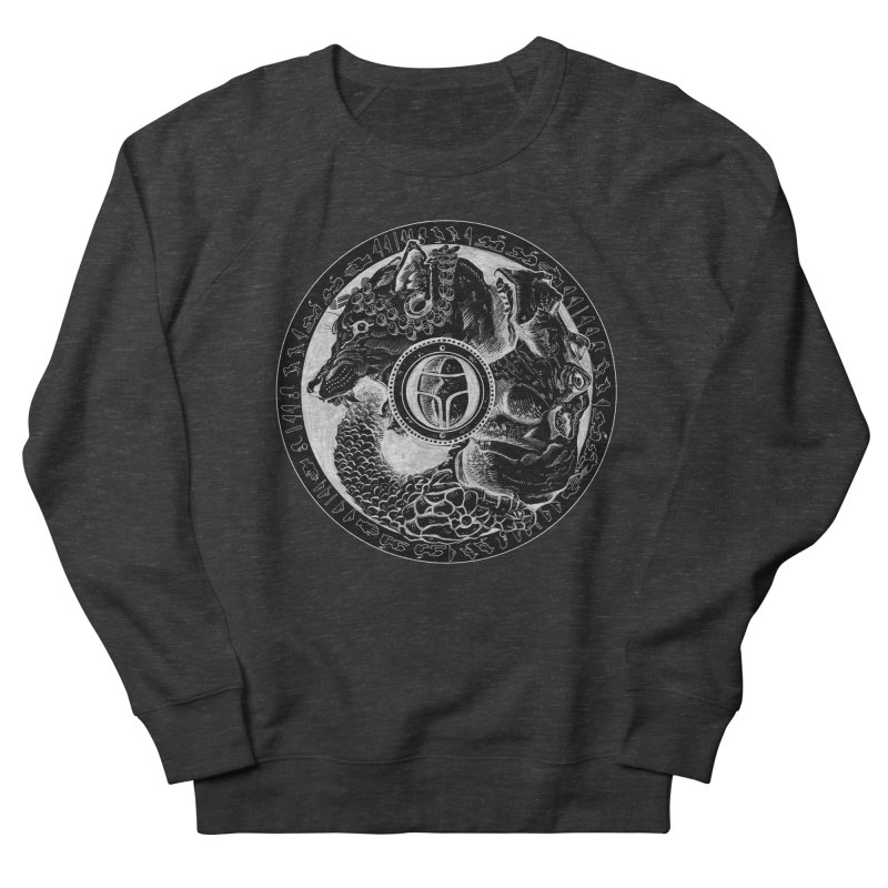 Scarabs Comic logo Men's French Terry Sweatshirt by Andrew Dorland's Shop of Wonderful Things