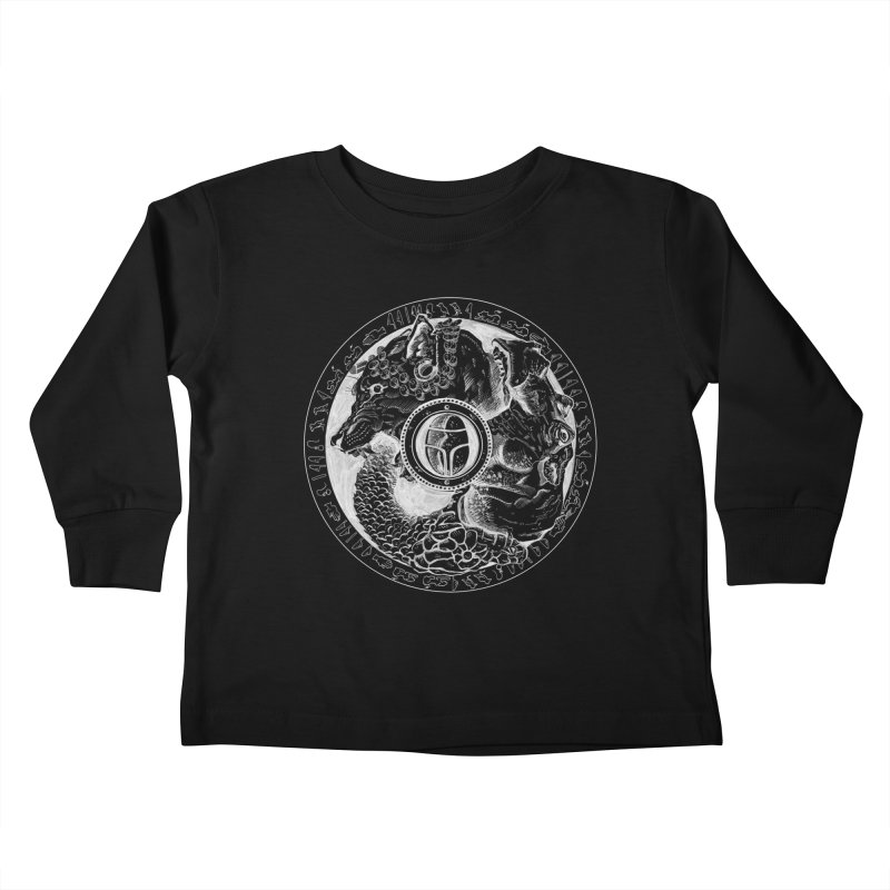 Scarabs Comic logo Kids Toddler Longsleeve T-Shirt by Andrew Dorland's Shop of Wonderful Things