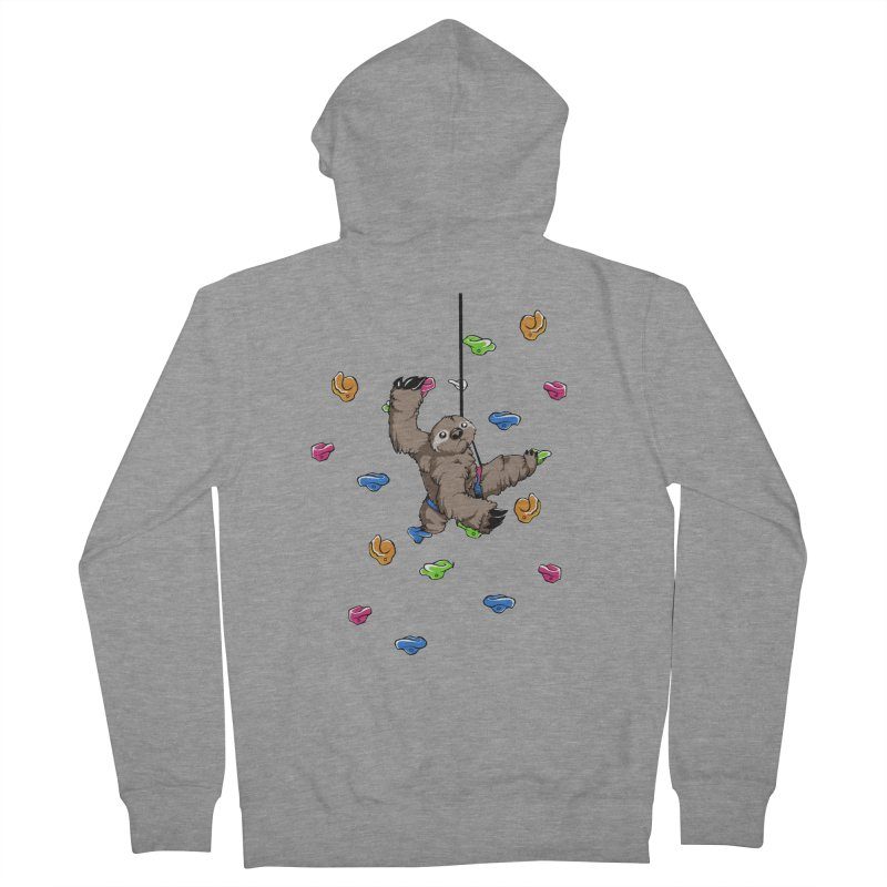 The Climber Women's Zip-Up Hoody by andrewedwards's Artist Shop