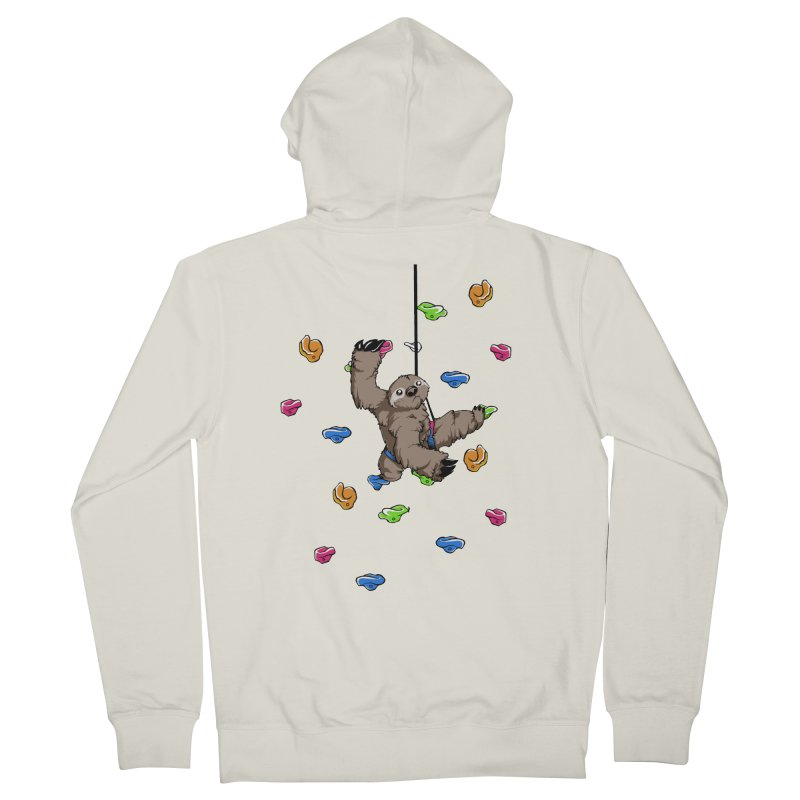 The Climber Women's French Terry Zip-Up Hoody by andrewedwards's Artist Shop