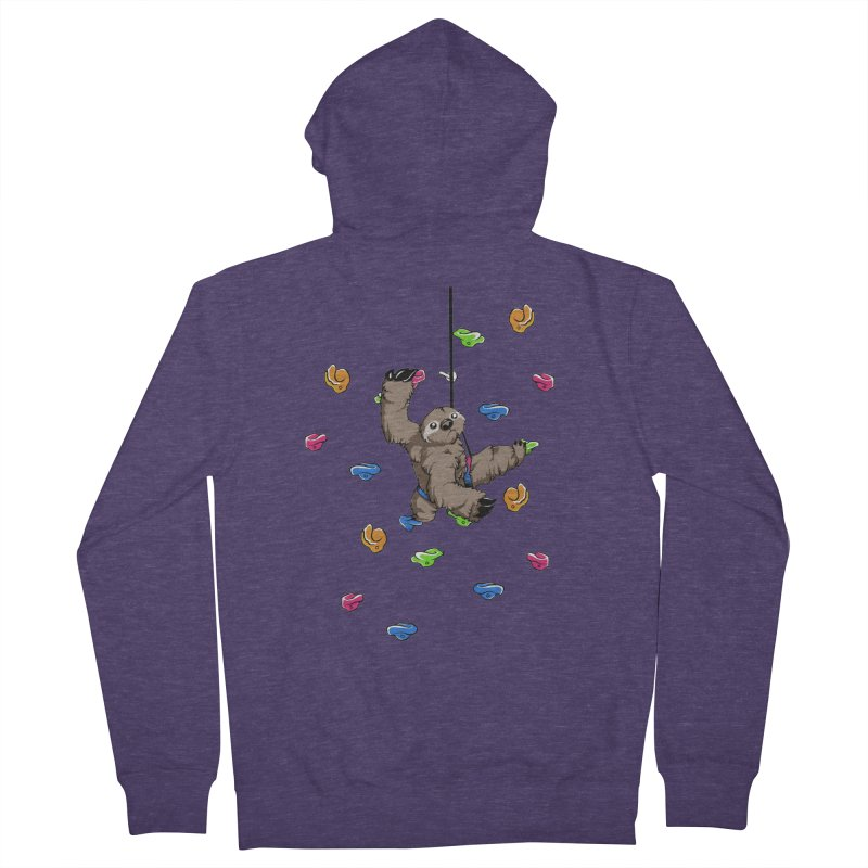The Climber Men's Zip-Up Hoody by andrewedwards's Artist Shop