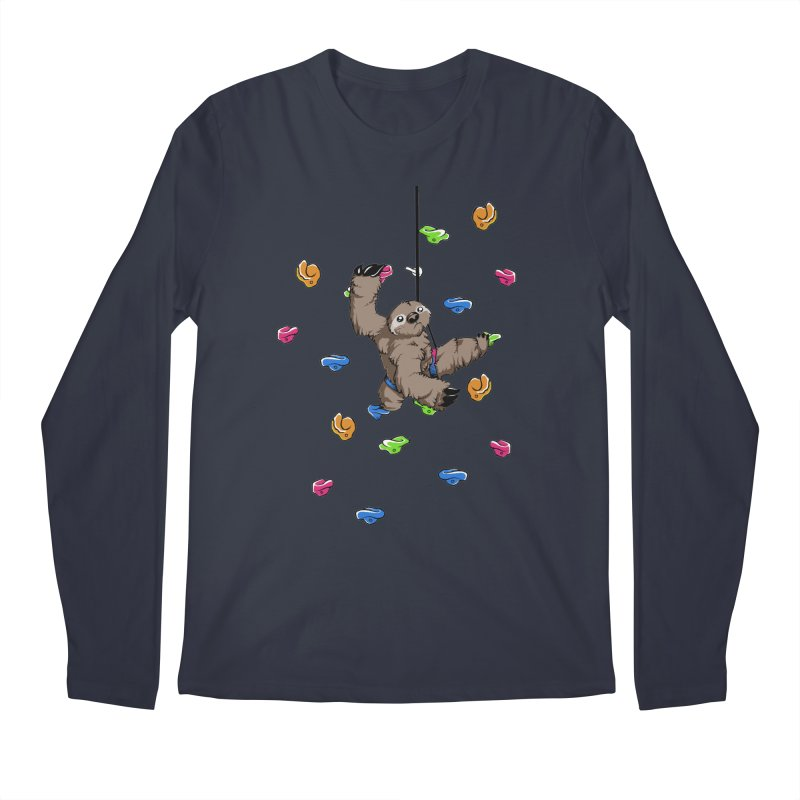 The Climber Men's Longsleeve T-Shirt by andrewedwards's Artist Shop