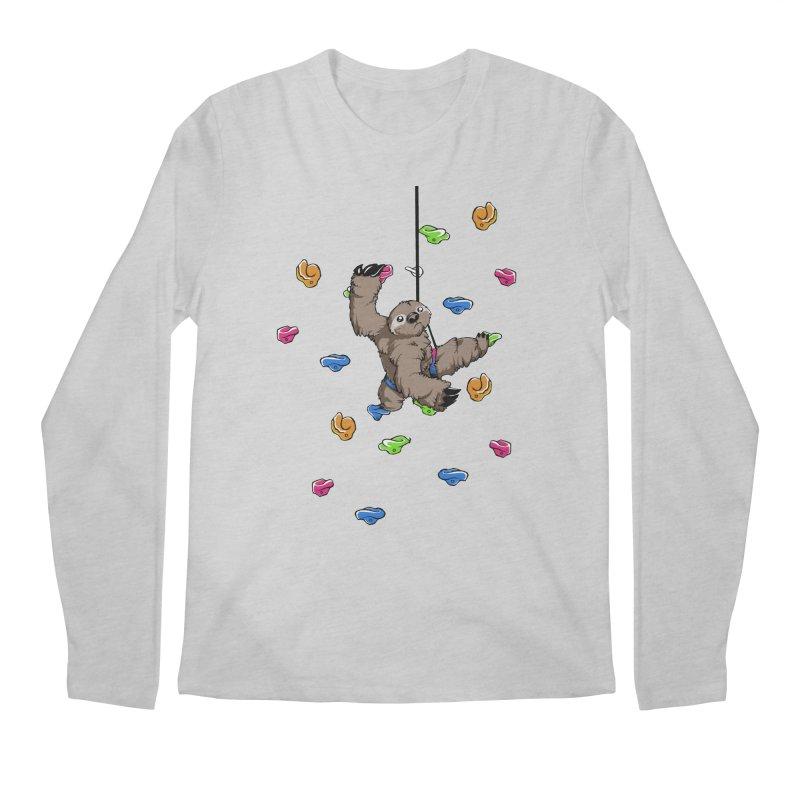 The Climber Men's Regular Longsleeve T-Shirt by andrewedwards's Artist Shop