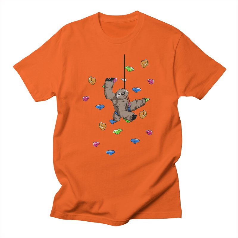 The Climber Men's T-shirt by andrewedwards's Artist Shop