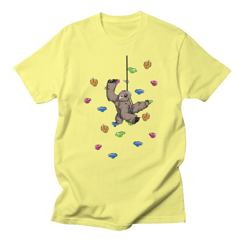 The Climber Men's Regular T-Shirt by andrewedwards's Artist Shop