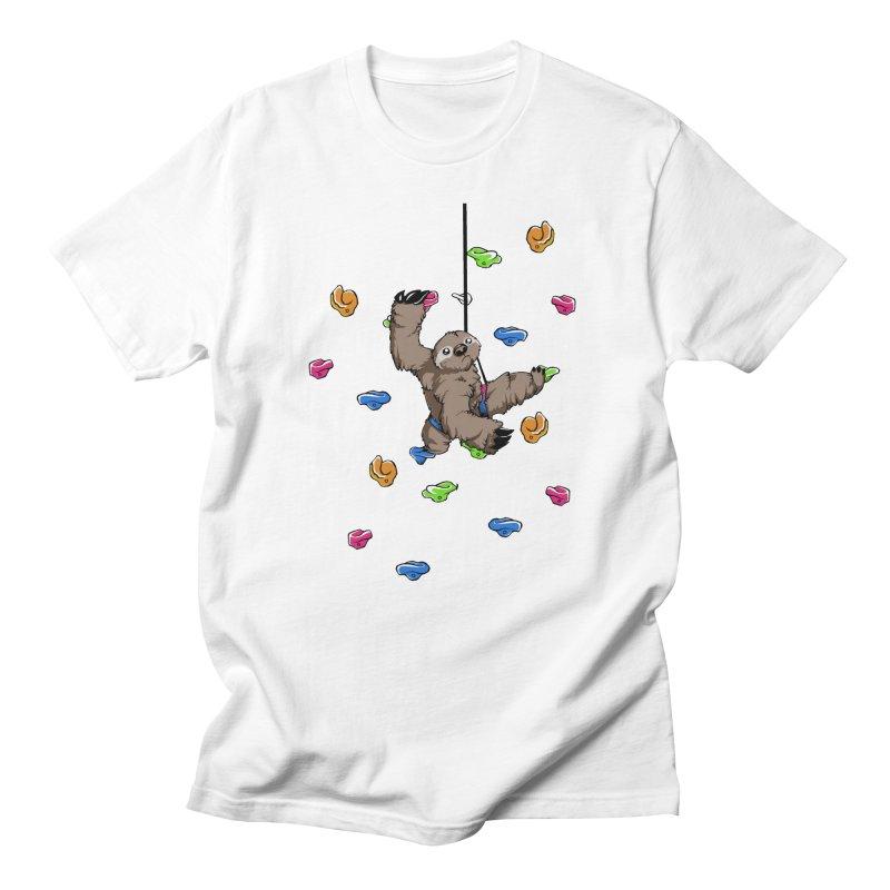 The Climber Men's Regular T-Shirt by andrewedwards's Artist Shop