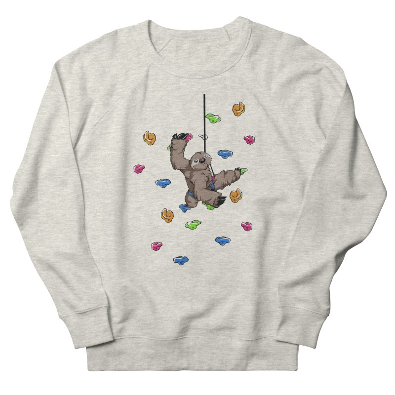 The Climber Women's French Terry Sweatshirt by andrewedwards's Artist Shop