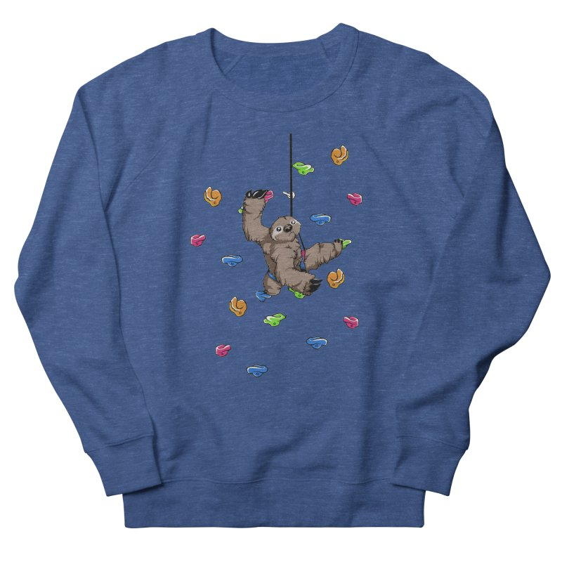 The Climber Men's French Terry Sweatshirt by andrewedwards's Artist Shop