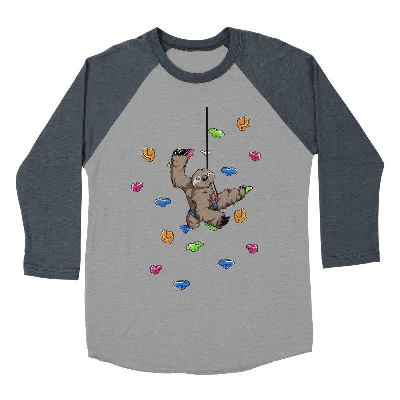 The Climber Men's Baseball Triblend T-Shirt by andrewedwards's Artist Shop