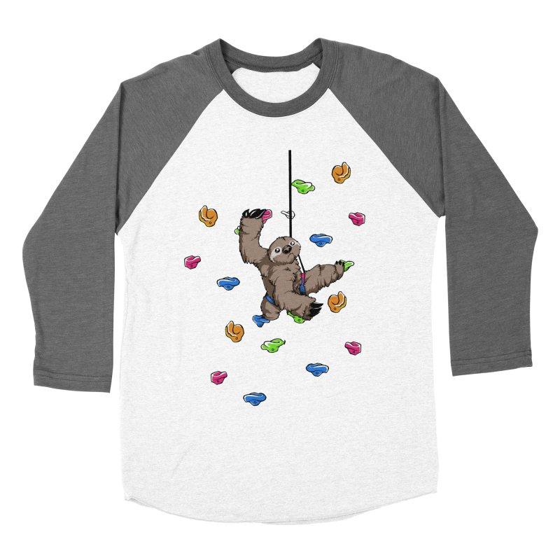 The Climber Men's Baseball Triblend Longsleeve T-Shirt by andrewedwards's Artist Shop