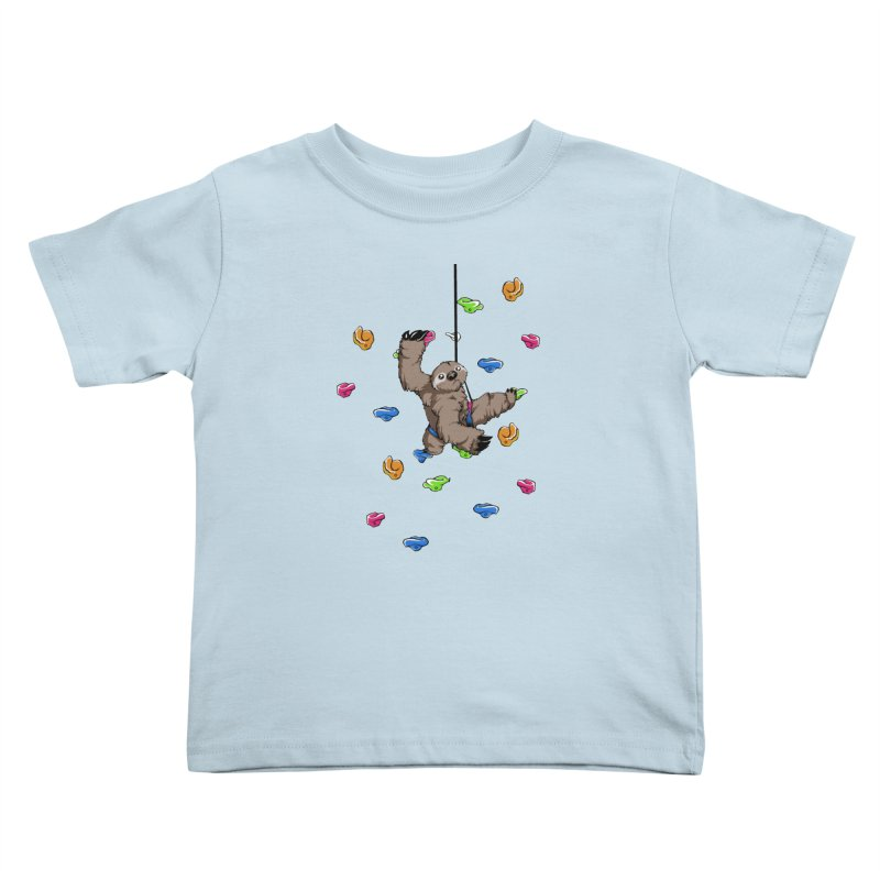 The Climber Kids Toddler T-Shirt by andrewedwards's Artist Shop