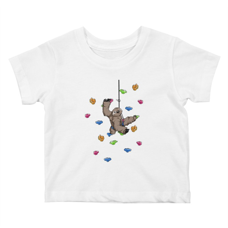 The Climber Kids Baby T-Shirt by andrewedwards's Artist Shop
