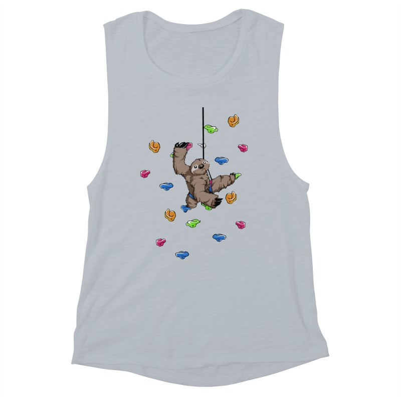 The Climber Women's Muscle Tank by andrewedwards's Artist Shop