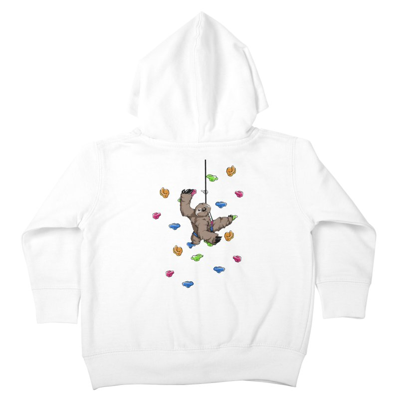 The Climber Kids Toddler Zip-Up Hoody by andrewedwards's Artist Shop