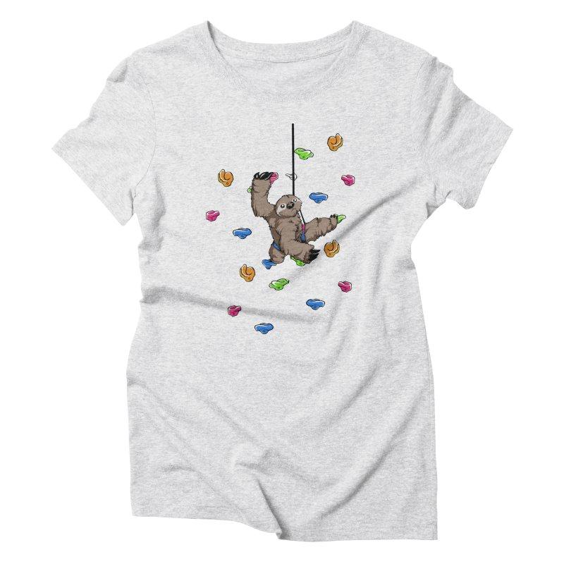 The Climber Women's Triblend T-Shirt by andrewedwards's Artist Shop