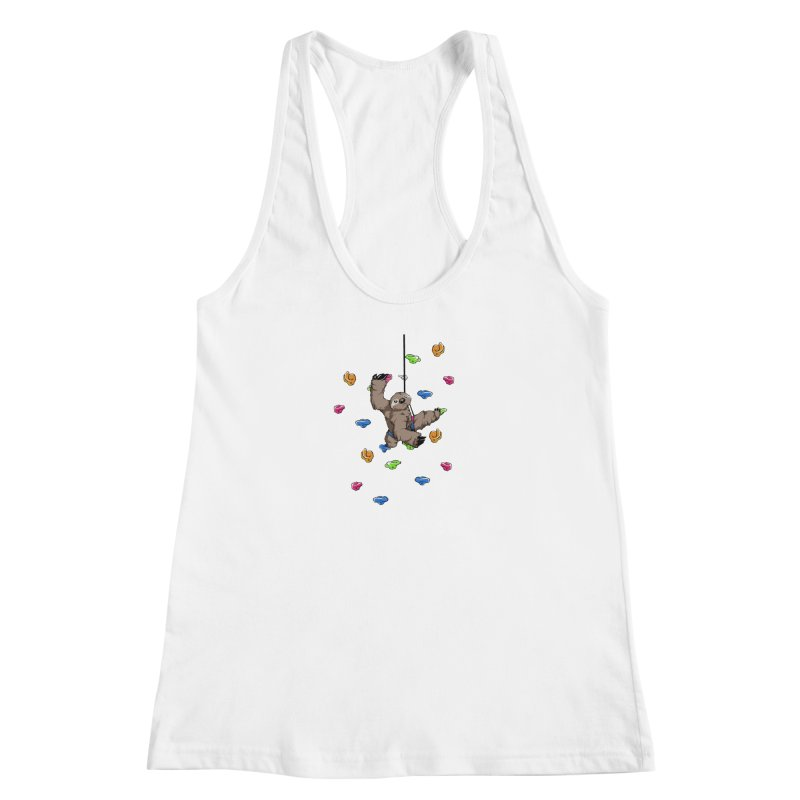 The Climber Women's Racerback Tank by andrewedwards's Artist Shop