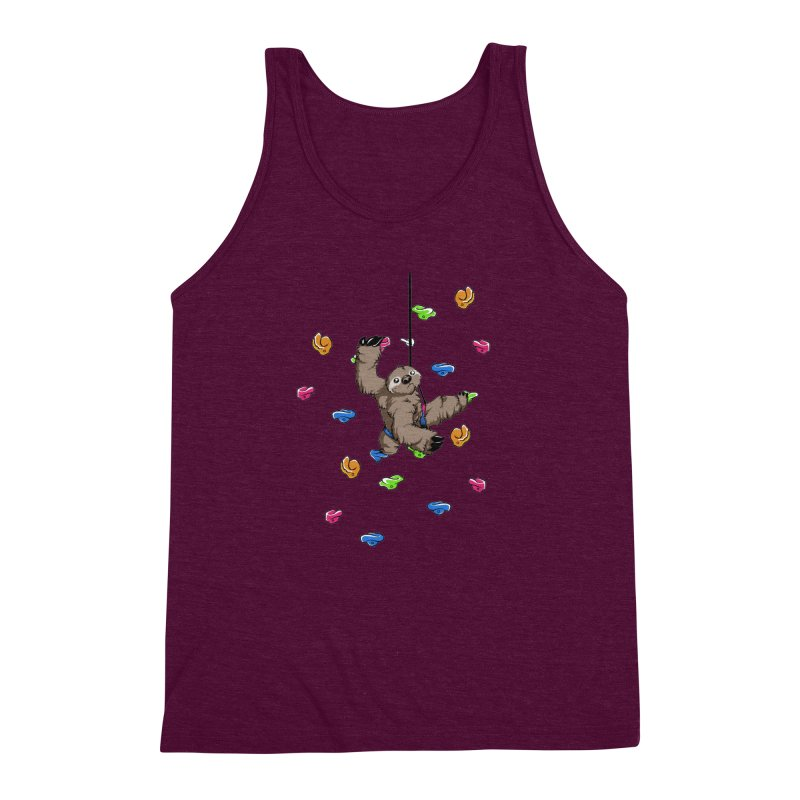The Climber Men's Triblend Tank by andrewedwards's Artist Shop
