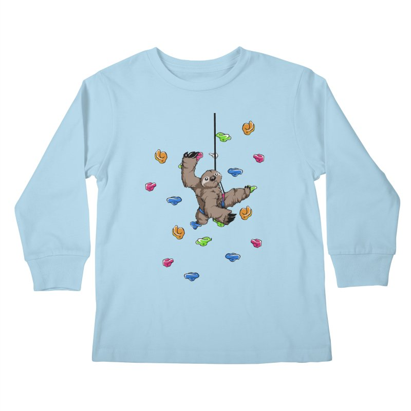 The Climber Kids Longsleeve T-Shirt by andrewedwards's Artist Shop