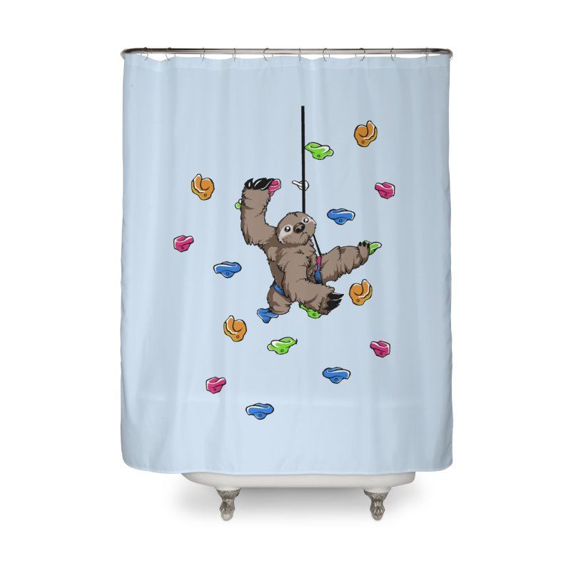 The Climber Home Shower Curtain by andrewedwards's Artist Shop