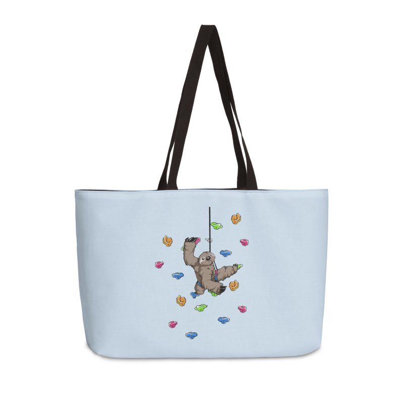 The Climber Accessories Weekender Bag Bag by andrewedwards's Artist Shop