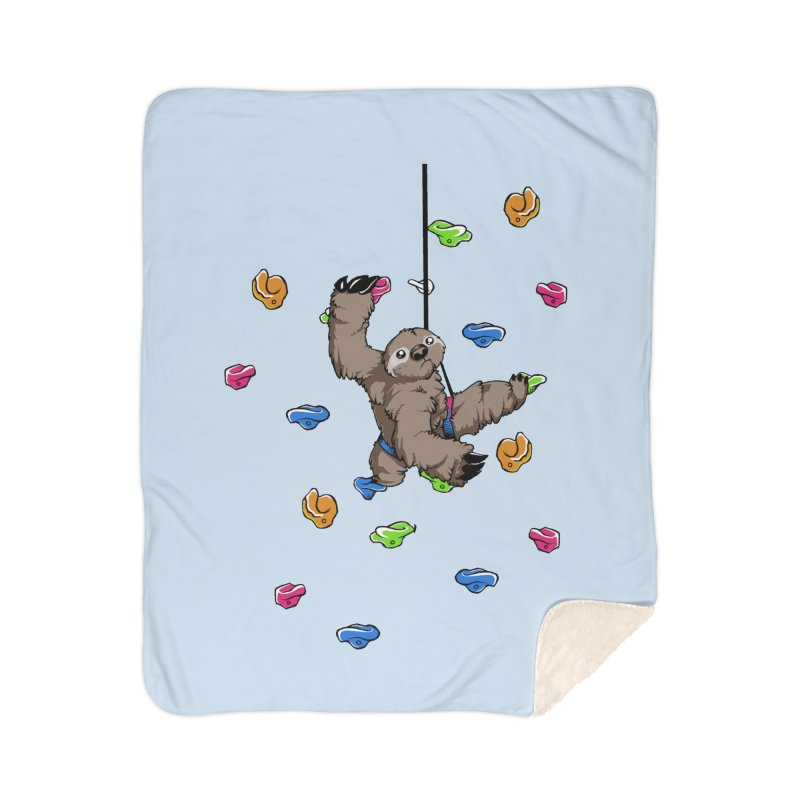 The Climber Home Sherpa Blanket Blanket by andrewedwards's Artist Shop