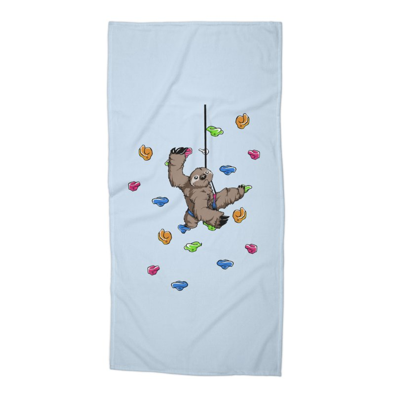 The Climber Accessories Beach Towel by andrewedwards's Artist Shop